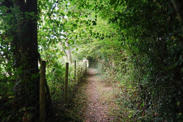 Tunbridge Wells Circular Path - south of Romford Rd