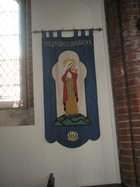 Banner within St James, Milton (4)