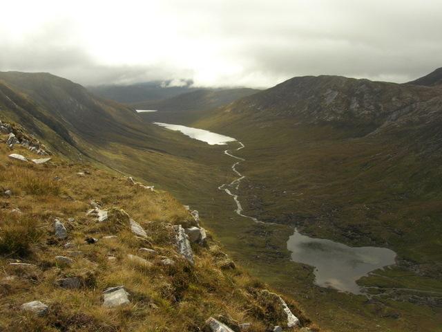 Above Loch Prille, west of Meallan nan Sac