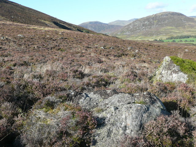 Bouldery slopes above Tigh-na-Coille