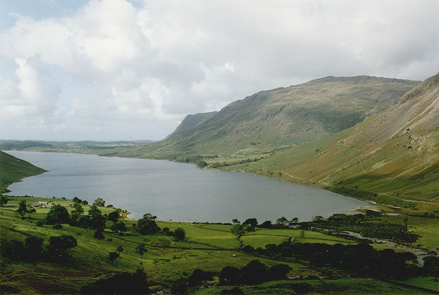The head of Wast Water