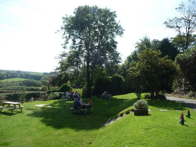 North Devon : The Gnome Reserve, Picnic Area