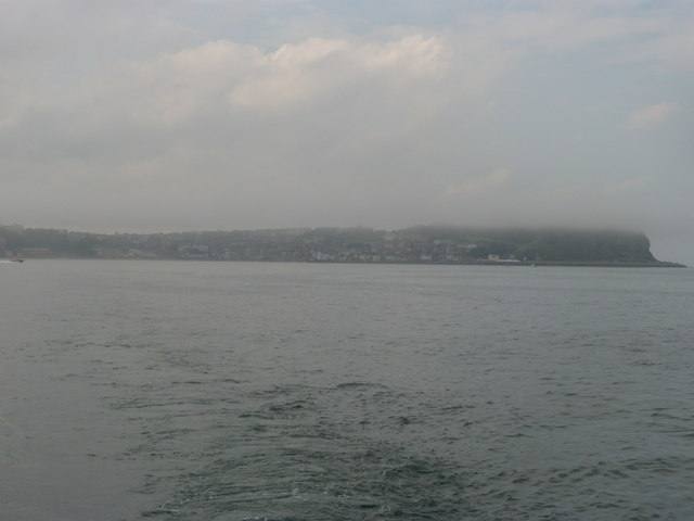 The headland and south bay at Scarborough