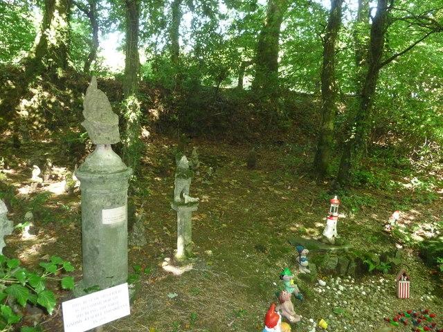 North Devon : The Gnome Reserve - the First Gnomes
