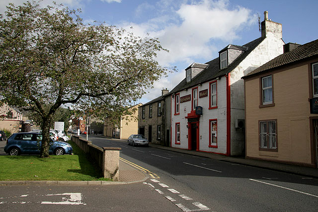 Low Main Street in Dalmellington