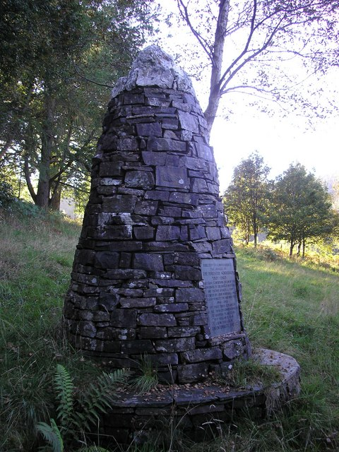 The Forestry Commission Jubilee Cairn,1919-1969