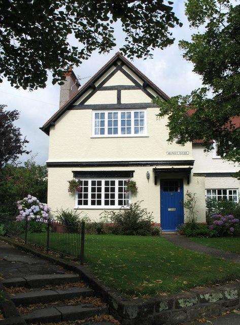 House at Port Sunlight (at Windy Bank)