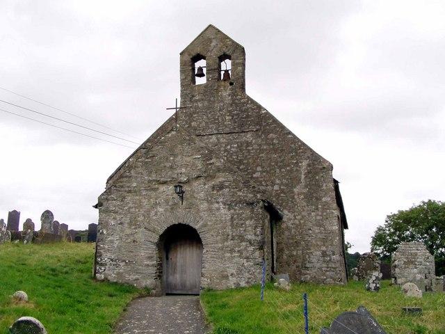The Church at Penbryn, Ceredigion.