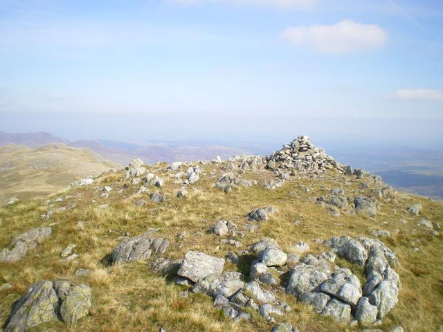 Summit cairn - Y Foel Goch
