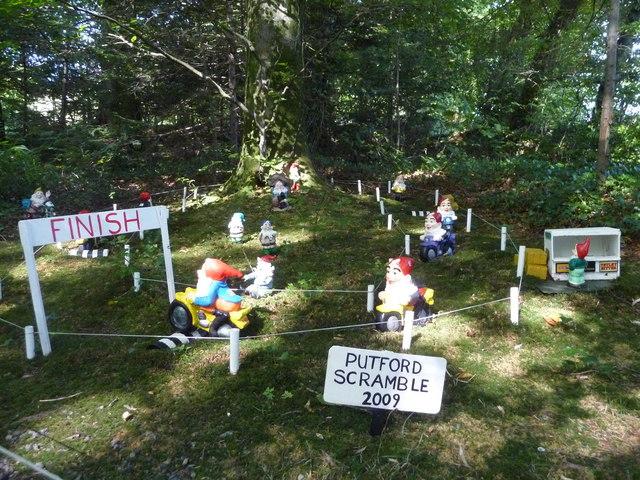 North Devon : The Gnome Reserve, Putford Scramble 2009