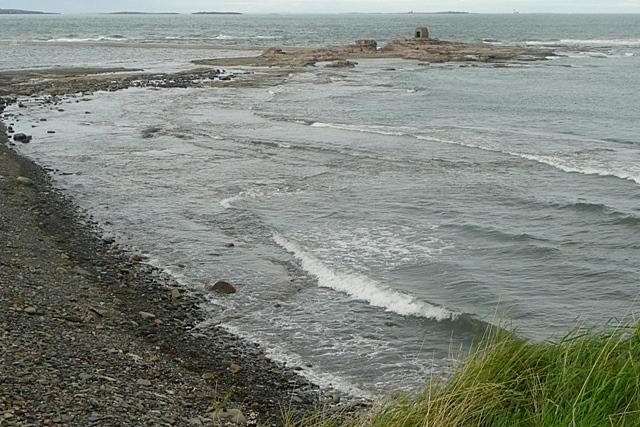 Seahouses breakwater