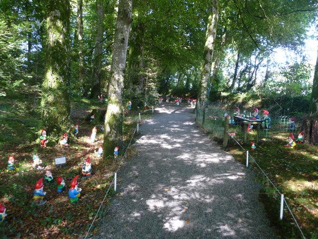 North Devon : The Gnome Reserve, Pathway