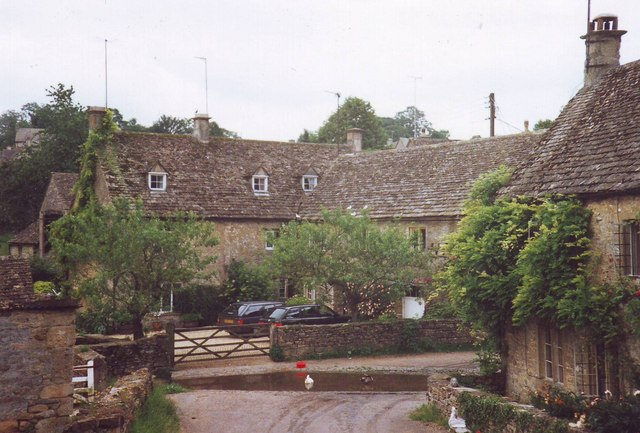 Ford at Duntisbourne Leer, Gloucestershire