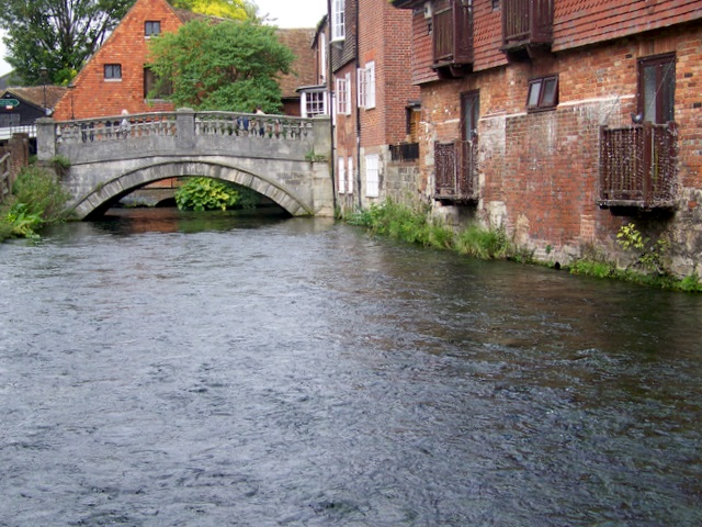 River Itchen, Winchester