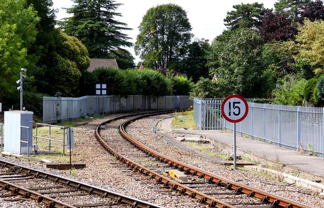 The railway line to Marlow