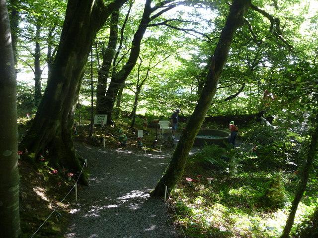 North Devon : The Gnome Reserve & Path