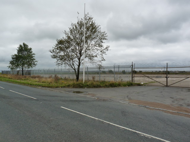 Demolition site of William Cook works at Inkerman, Tow Law