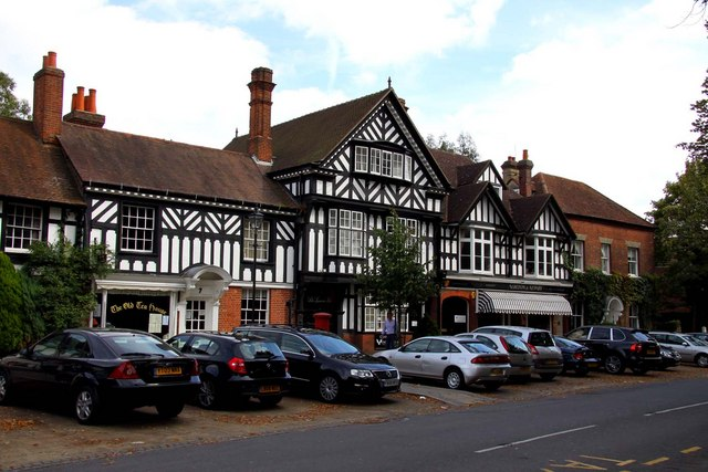 Part timbered building in Beaconsfield