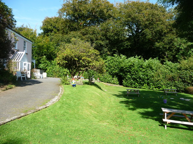 North Devon : The Gnome Reserve, Benches & Entrance