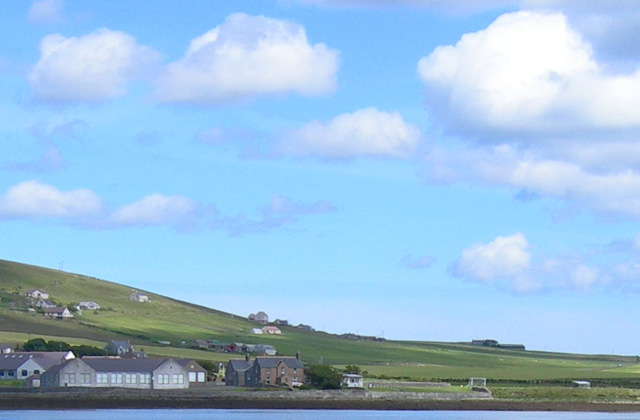 Finstown school on the north waterfront