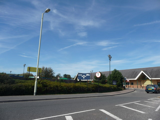 Bideford : Morrisons Supermarket