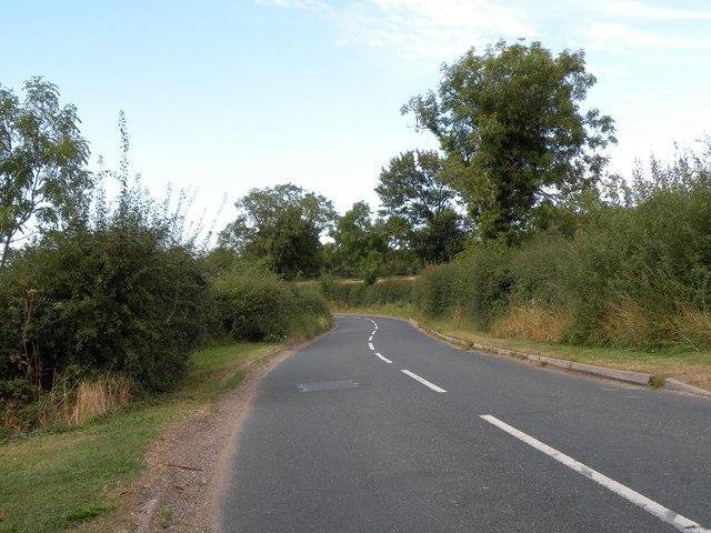 Bayford Lane, heading towards Hertford