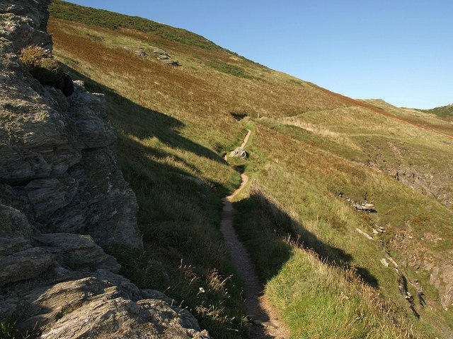 Coast path near Peartree Point