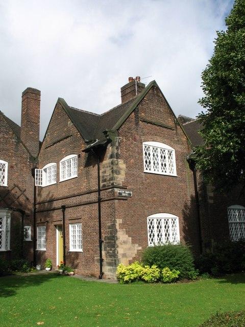 Houses at Port Sunlight (Latticework Windows and Brickwork)