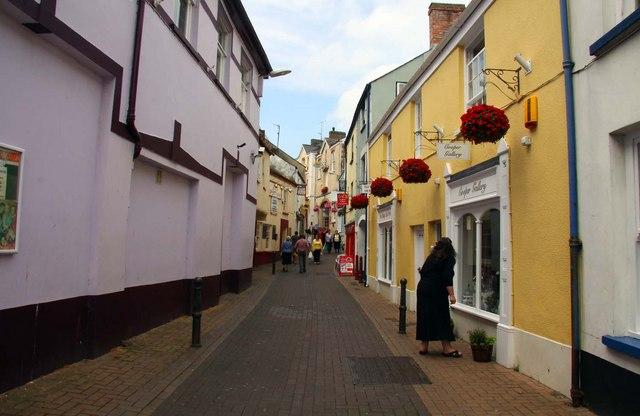 Cooper Street in Bideford