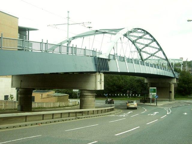 Supertram Bridge,  Park Square, Sheffield