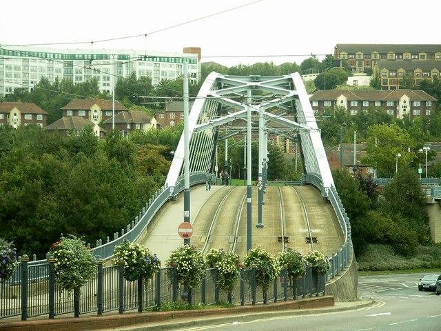 Supertram Bridge,  Sheffield