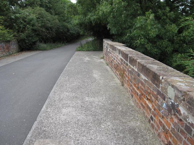 Broughton railway bridge and bridleway