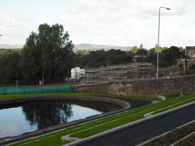 Maryhill canal basin