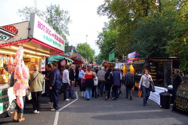 St Giles Fair on Banbury Road