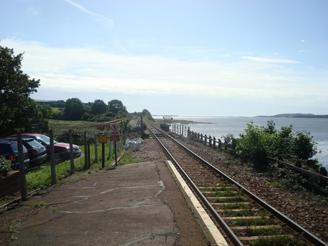 Railway line at Exton