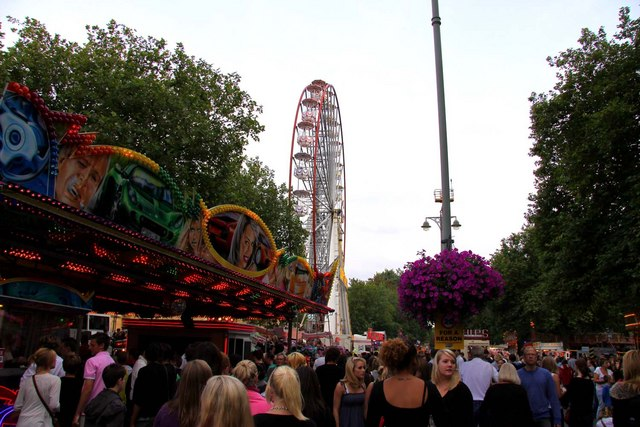 St Giles Fair in Oxford