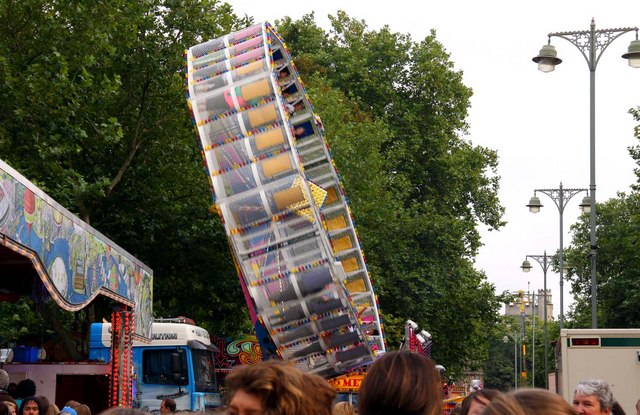 The Rotor at St Giles Fair