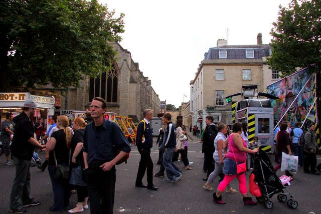 Pusey Street in Oxford