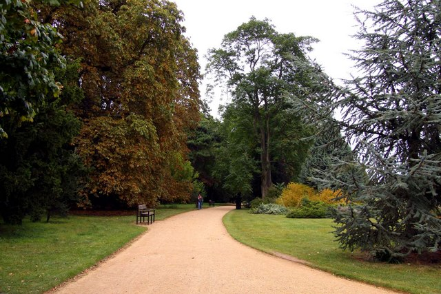 University Parks in Oxford