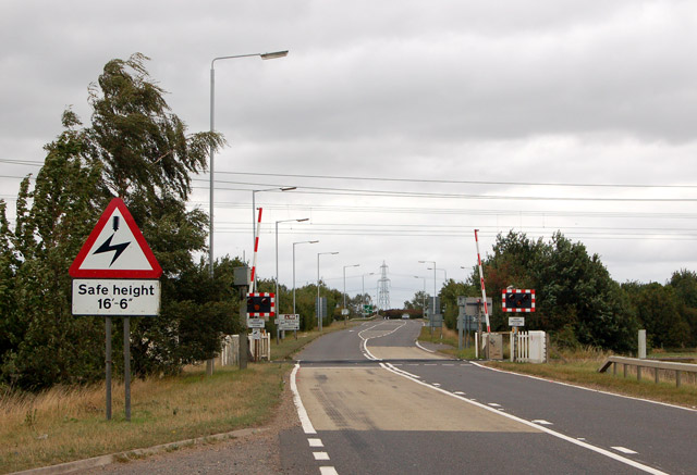 Littleport bypass level crossing (1)