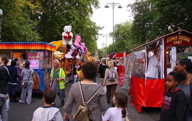 St Giles Fair in Oxford