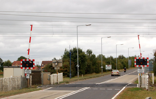 Littleport bypass level crossing (2)