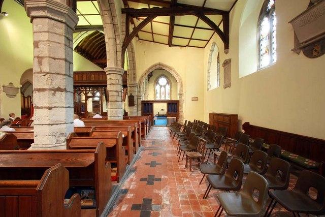 St Peter & St Paul, Shorne, Kent - South aisle