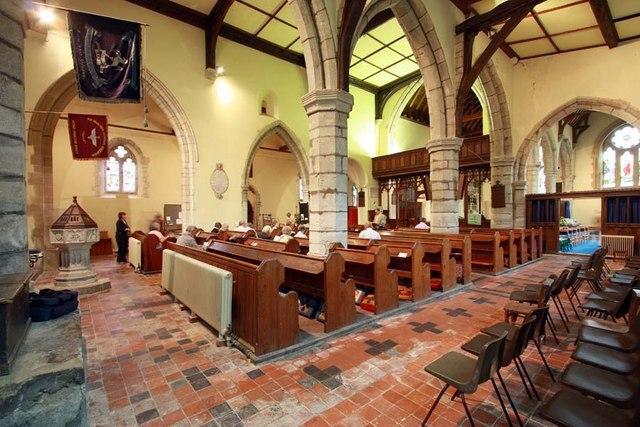 St Peter & St Paul, Shorne, Kent - Interior