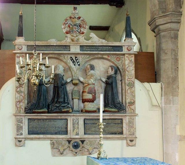 St Peter & St Paul, Shorne, Kent - Wall monument