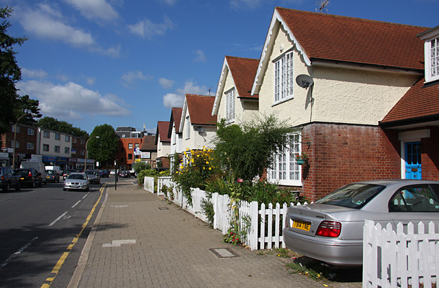Houses on Marsh Road
