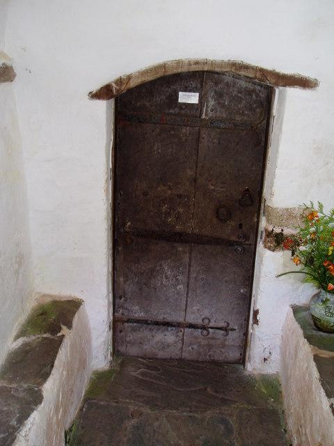 Crooked Door, Culbone Church.