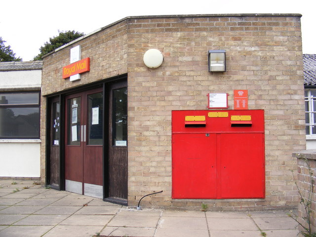 Halesworth Sorting Office & Royal Mail  Norwich Road Postbox