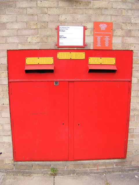 Royal Mail Norwich Road Postbox