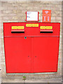 TM3877 : Royal Mail Norwich Road Postbox by Adrian Cable